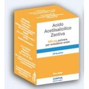 Zentiva Italia Srl Acido Acetils Zen 500 Mg Polvere Per Soluzione Orale 20 Bustine