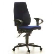 Hjh Sedia ergonomica SYDNEY PRO, Topstar, certificazione LGA, omologata 8h giornaliere d'uso, in blu