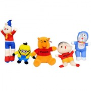 Yashi Enterprises 5 soft toys combo