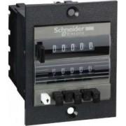 Contor sumator cu preselecție - afișaj mecanic cu 5 cifre - 24 v c.c. - Contoare multifunctionale - Zelio count - XBKP50100U20M - Schneider Electric