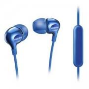 Слушалки Philips слушалки с микрофон, цвят: син, SHE3555BL