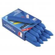 Kreda do opon, marker REDATS PREMIUM - niebieska niezmywalna 10 sztuk - niebieski