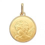 Orféva Médaille Ange de profil