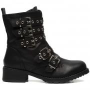 ComeGetFashion Biker boots met gespen - Schoenen