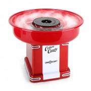 OneConcept CANDYLAND 2 ретро машина за захарен памук 500W червена (TK27-Candyland2)