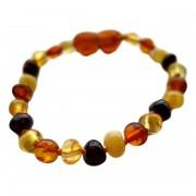 Kidzstore Bracelet ambre - Multicolore