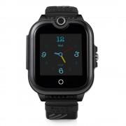 Ceas Inteligent pentru copii WONLEX KT13 4G Negru, cu GPS, apelare video, rezistent la apa, localizare WiFI si monitorizare spion