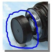 SHOPEE BRANDED Brand new Rear Lens Cap / Cover For nikon a/f Lens 18-55mm