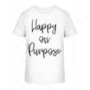 Happy On Purpose - Kinder Premium Bio T-Shirt