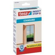 Plasă pentru ușă contra ţânţarilor tesa ® Standard, 2,2 m x 1,3 m, antracit