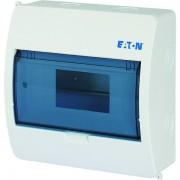 Tablou electric 1 rand 8 module, Eaton, capac transparent