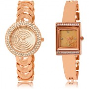 The Shopoholic White Rose Gold Combo Best Combo Pack White And Rose Gold Dial Analog Watch For Girls Girl Watches Fashion
