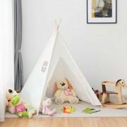 Indián sátor 3 színben, gyerekeknek 155x150x130 cm – Rózsaszín
