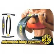 Aparat multifunctional de fitness pentru brate abdomen si coapse Gold s Gym ABS