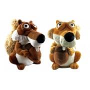 Veverička Scrat z doby ľadovej opakuje slová, skáče - ...