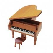 Böhme Musikspieluhren Holz-Flügel mit Spieluhren-Melodie wählbar (Spieldose, Musikdose, Spieluhren, Instrument)