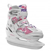 Patine copii Roces Moody Ice Girl white/pink lightning