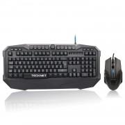 Tecknet Gaming Combo X701 - комплект геймърска клавиатура и мишка с LED подсветка (за PC)