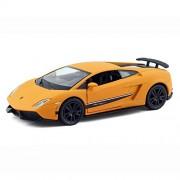RMZ City - 1/36 Scale Lamborghini Gallardo LP 570-4 Superleggera (Matte Orange - 4.7 Inches))