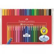 Carioca 20 culori Grip Faber-Castell