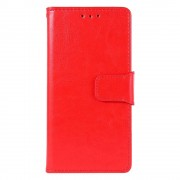 Shop4 - Samsung Galaxy Note 10 Lite Hoesje - Wallet Case Business Rood