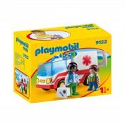 Playmobil 1.2.3 Rescue Ambulance (9122)