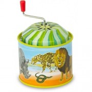 Vilac Tin Music Boxes Wild Animals By Nathalie Lete by Vilac
