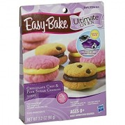 Easy-Bake Ultimate Oven Chocolate Chip and Pink Sugar Cookies Refill Pack 3.2 oz