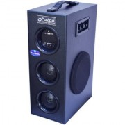 PALCO M1001 Single Tower Speaker System (Black) with Bluetooth USB Aux FM