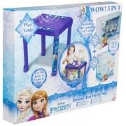 Disney Frost, Frozen, DIY, 3 i 1 té set, lekbord & måla din egen figur
