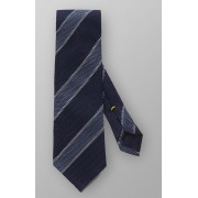 Eton Das Diagonal Tie Donker Grijs / male