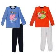 Peppa Pig Greta Gris Pyjamasset (Blå, 5 ÅR - 110 CM)