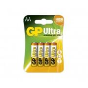 4 buc Baterie alcalină AA GP ULTRA 1,5V