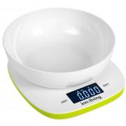 Електронна кухненска везна с купа INNOLIVING INN-132G - зелена