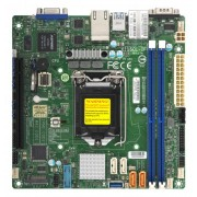 SUPERMICRO MB - SINGLE SOCKET E-2100 2X DIMM ECC 2X 1GBE
