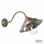 KS Verlichting Antieke Buitenlamp Savoye 2 Brons