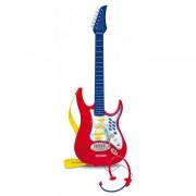 Chitara electronica cu micro-casca