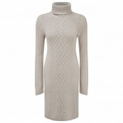 Sherpa - Women's Paden Bell Sleeve Dress - Robe taille L, gris