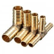 Meco 6mm 8mm 10mm 12mm Brass T Piece 3 Way Fuel Hose Joiner Connector For Air Oil Gas