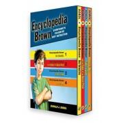 Encyclopedia Brown 4 Volume Boxed Set, Paperback