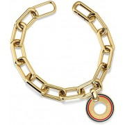 Tommy Hilfiger Placat cu aur TH2700704 oțel brățară pandantiv