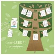 Pirouette Cacahouète Kit Ateliers Créatifs 'Mon arbre généalogique' Pirouette Cacahouète -