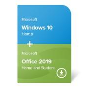 Windows 10 Home + Office 2019 Home and Student elektroniczny certyfikat