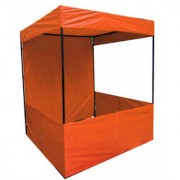 eweft CANOPY Tent - For Advertisement 6X6X7 FEET (Orange) Tent - For 4