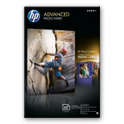 HP Advanced Gloss Photo Paper, 60 Sht Contains 60 sheets of Advanced glossy photo paper in 10 x 15 cm.