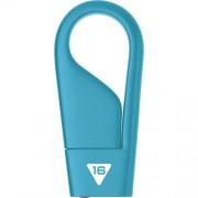 Stick USB 16GB Hook USB 2.0 D200 Albastru EMTEC