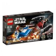 Lego Star Wars. 75196 A-Wing kontra TIE Silencer