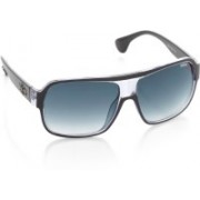 IDEE Over-sized Sunglasses(Blue)