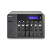 "QNAP TVS-671 NAS Torre Ethernet Negro Unidad Raid (Unidad de Disco Duro, SSD, Serial ATA II, Serial ATA III, 2.5/3.5"", 0, 1, 5, 6, 10, JBOD, FAT32,HFS+,NTFS,ext3,ext4, 3 GHz)"