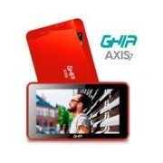 TABLET GHIA A7 WIFI T7718R/5PTOS/QUAD/1GB/8GB/2CAM/WIFI/ANDROID 8.1 GO/BLUETOOTH/ROJA